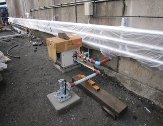 井戸ポンプ工事(水中ポンプ設置)
