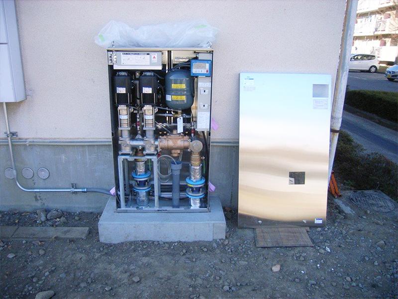 増圧直結給水ポンプ(ブ゙ースターポンプ)