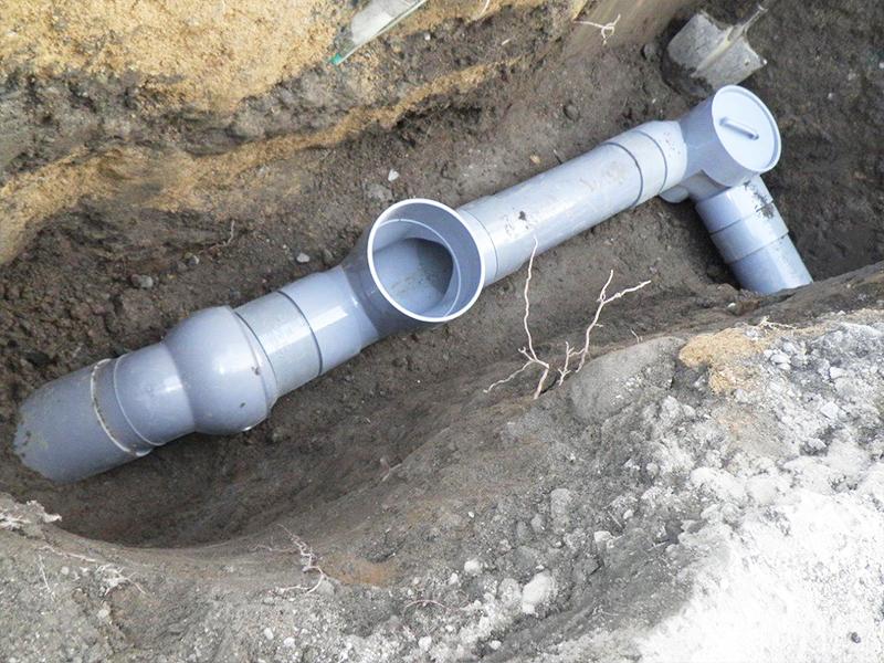排水設備工事(下水接続)