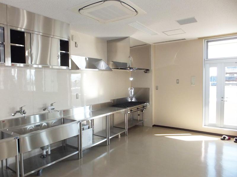 厨房機器設置・SUS製レンジフード