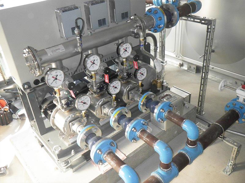 給水ポンプユニット