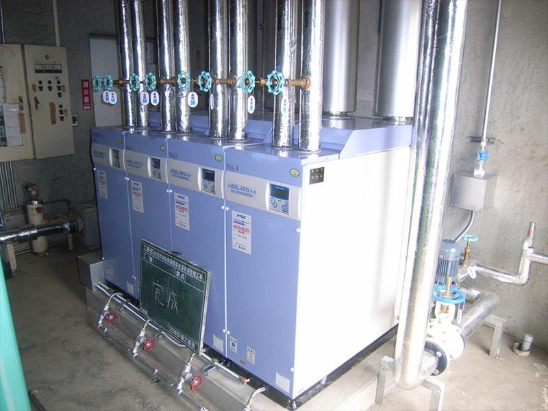真空式給湯暖房温水器(バコティンヒーター)