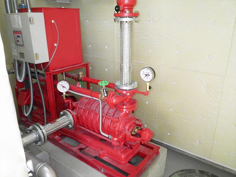 消火栓ポンプユニット(消防庁舎)