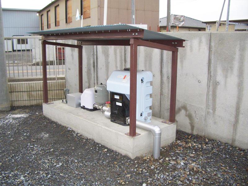 井戸ポンプ工事(塩素)