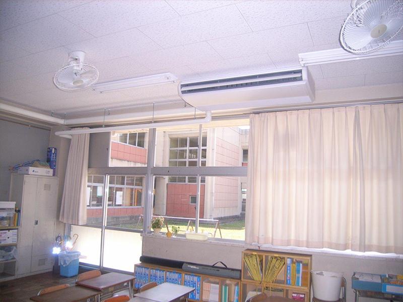 空調設備工事(市内 小学校)