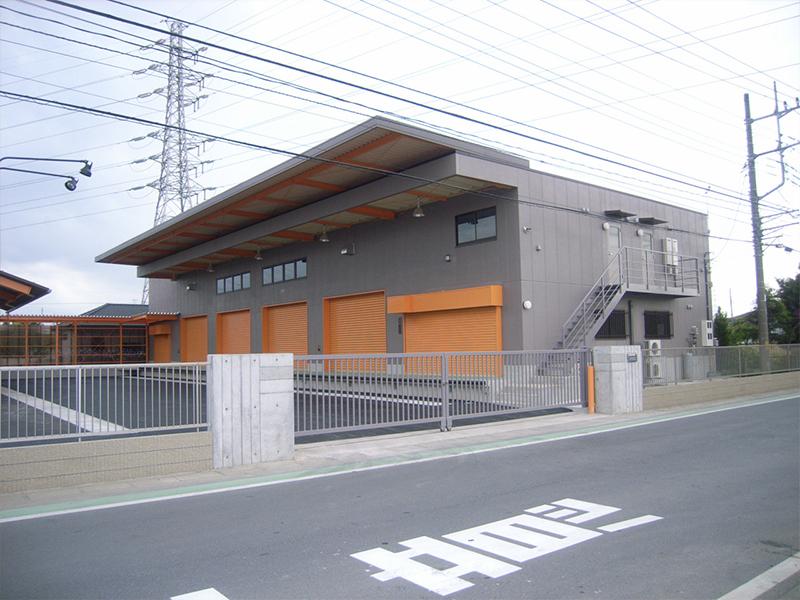 建築工事(食品会社倉庫)