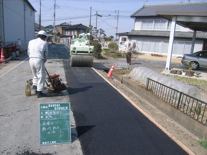 舗装工事(市内道路)
