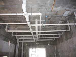 屋内排水設備工事(公共施設新築)
