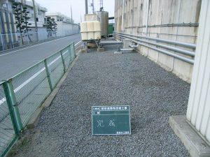 散水設備 ・井戸ポンプ工事(完 成)