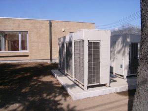 空調設備工事(市内 公共施設)